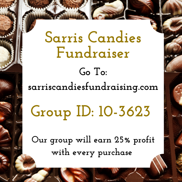 Sarris Candies Fundraiser